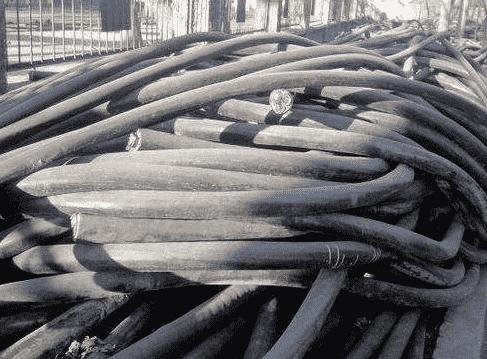 废旧电缆回收前的利用,铜在人类生活中扮演着重要的角色