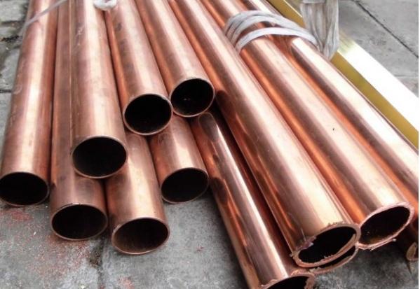紫铜废铜材料变紫铜棒料技术性