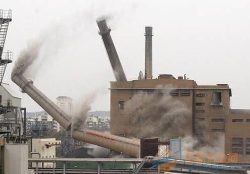 成都钢烟囱拆除施工需要注意事项