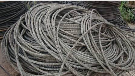 钢丝绳回收:钢丝绳的构成