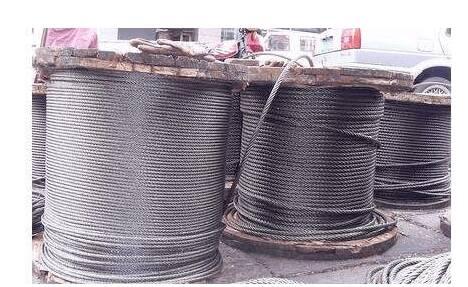 钢丝绳回收:镀锌钢丝的运用和维修保养方式