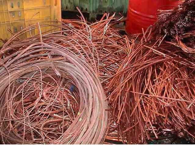 电子器件废铜材料的回收